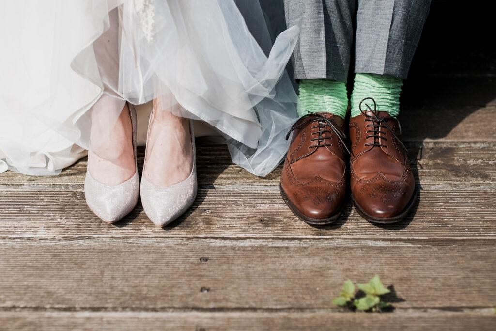 Sposi piedi