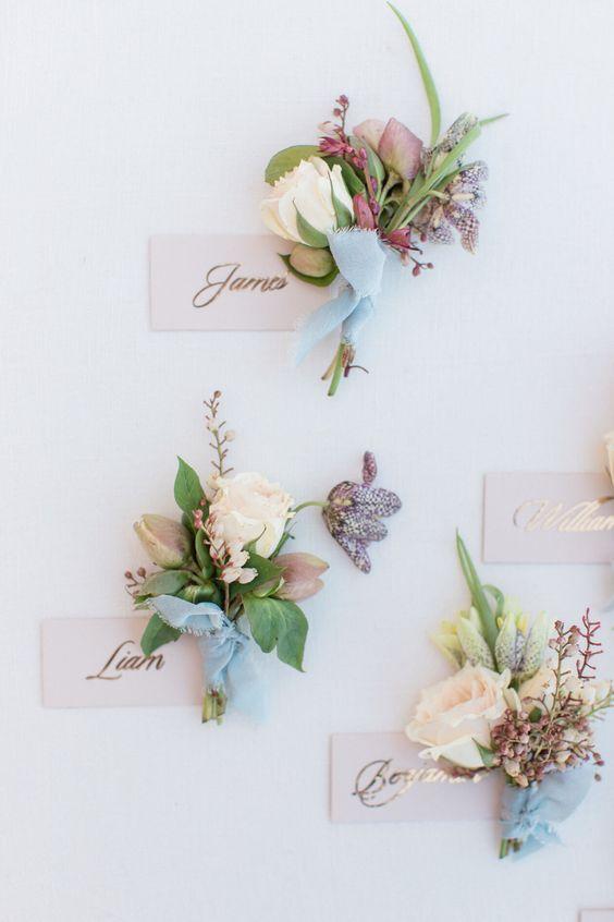 Matrimonio tema fiori