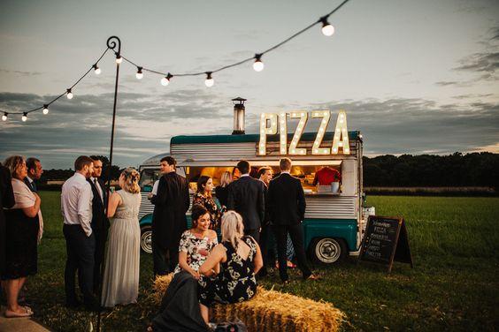 Matrimonio tema street food