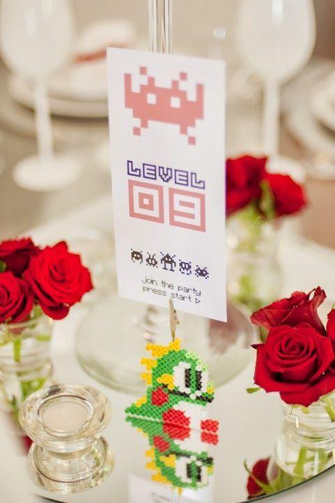 Matrimonio tema videogame