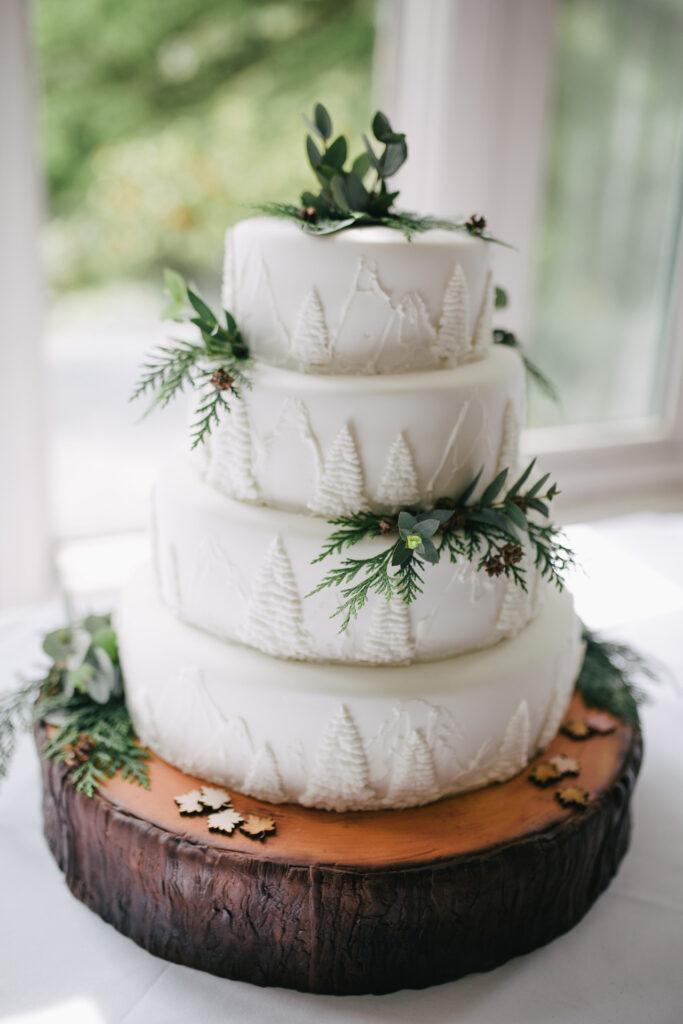 Matrimonio tema inverno