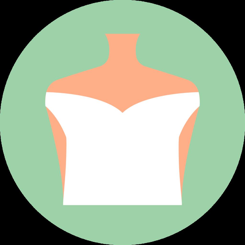 Scollatura off-shoulder