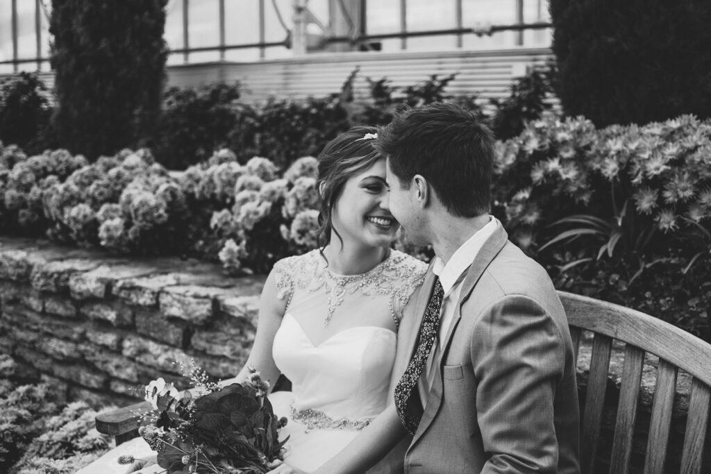 Sposi il giorno del matrimonio