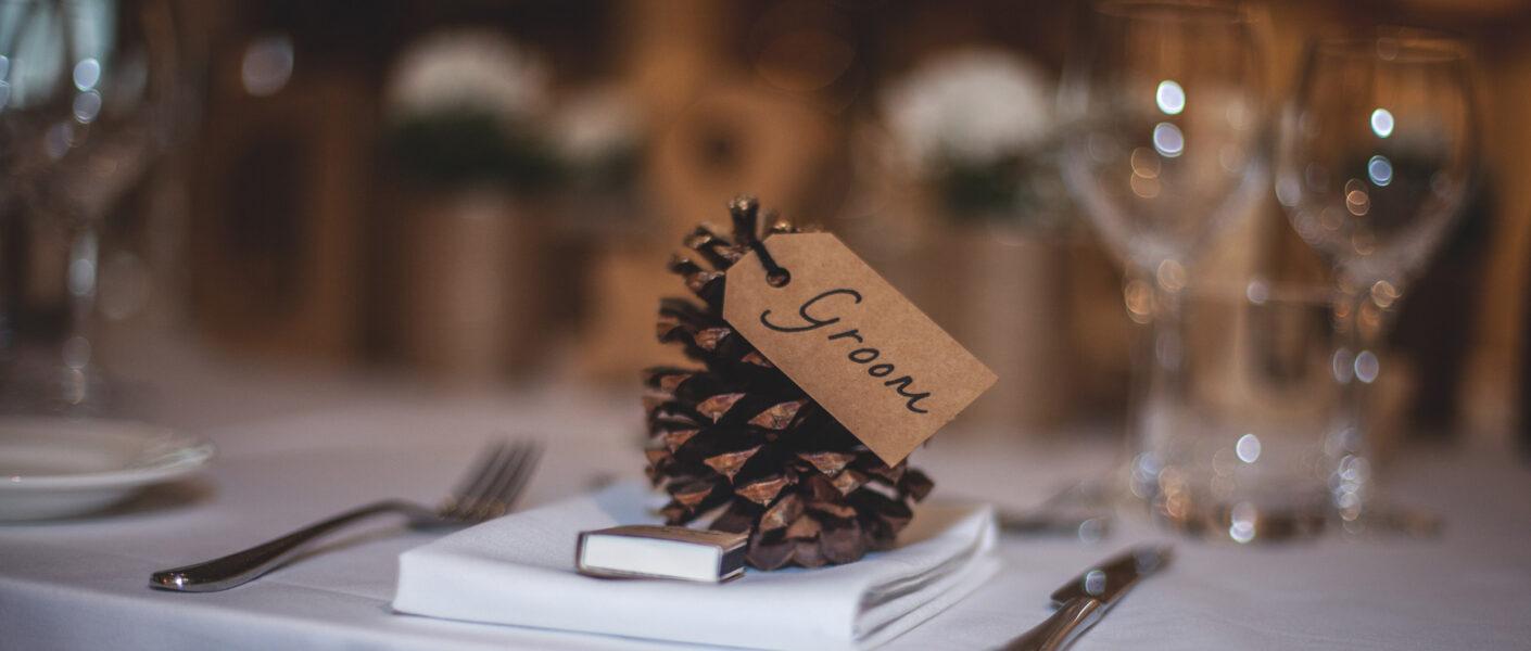 Segnaposto matrimonio DIY