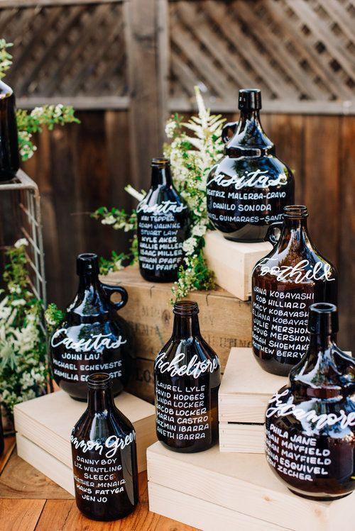 Tableau con bottiglie o vasi