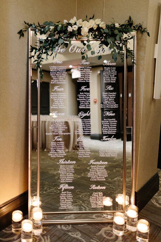Tableau specchio