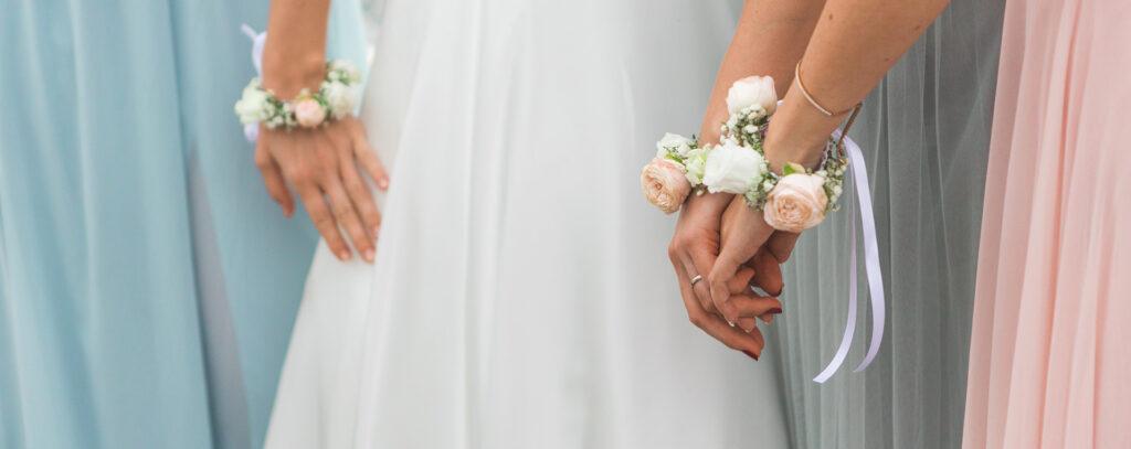 Testimone di nozze della sposa
