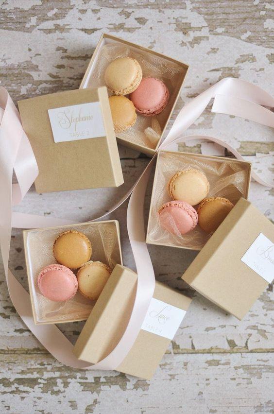 Bomboniere gastronomiche macarons