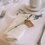Come presentare il menù del matrimonio