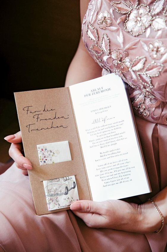 Progettazione Wedding book